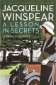 Go to record A lesson in secrets : a Maisie Dobbs novel